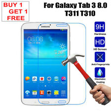 """Tempered Glass Screen Protector for Samsung Galaxy Tab 3 8.0"""" Sm-t310 T311 T315"""