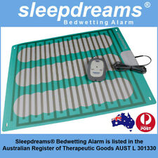 2x GREY Sleepdreams® Bedwetting Mattress Alarm NON-INVASIVE Bed Wetting Enuresis