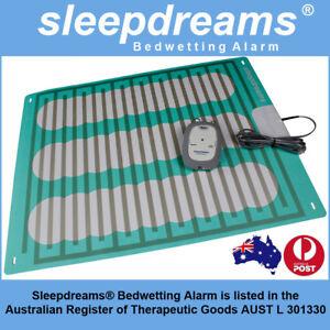 2x GREY Sleepdreams® Bedwetting Mattress Alarm NON-INVASIVE Bed Wetting Enuresis