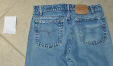 Vintage Levis 505 Red Tab Tag 34x34 Made In USA 100% Cotton