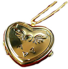 Undertale Limited Edition Heart Shaped Gold Musical Locket Necklace Official