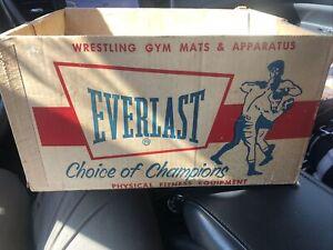 Vintage Men's Brown Everlast Boxing Gloves 2626 W Original Box Great Gift Idea