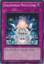 Aquamirror Meditation Yugioh Trap Card Super Rare HA05-EN058