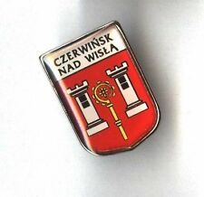 Czerwińsk nad Wisłą pin Polish city badge coat of arms POLAND
