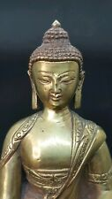 Nepali Brass Copper   Buddha Statue