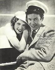 JIMMY STEWART HARVEY The Philadelphia Story AUTOGRAPHED 8 1/2 X 11 1/2  PHOTO