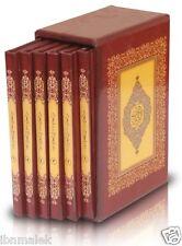 Arabic Holy Quran uthmani script 6 parts 17 x 24 cm