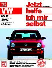 REPARATURANLEITUNG JETZT HELFE ICH MIR SELBST 139 VW GOLF II 2 / JETTA II 2