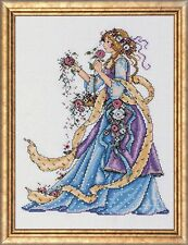 "Rose Lady Counted  Cross Stitch Kit - Design Works - 14 Count - 9"" x 12"""