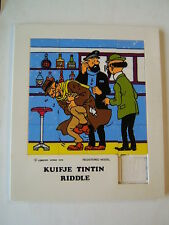 HERGE /   RIDDLE  TINTIN  /  VOL 714  POUR SYDNEY /  LOMBARD  1976