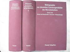 Pyritz: Bibliographie des Barock-Zeitalters, 2 Bände