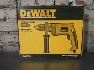 "DEWALT MODEL No. DW235G, 1/2"" CHUCK, 7.8A, CORDED DRILL - NEW in box"
