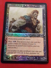 CLERC FALLEN CLERIC CARNAGE ZOMBIE FOIL CARD MAGIC MTG RARE FRENCH VERSION
