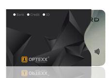 OPTEXX® RFID / NFC 1x Schutzhülle Finn TÜV geprüft & zerifiziert | Kreditkarte