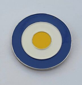 Mod Target In Leeds United Colours Quality Enamel Pin Badge