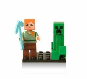 Minecraft minifigure Alex nuovo
