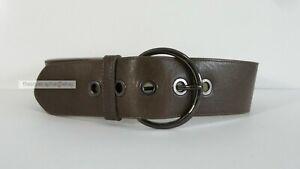 WITCHERY // Size SM // Mink Wide Leather Waist Belt