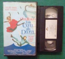 VHS FILM Ita Commedia OVERBOARD Una Coppia Alla Deriva ex nolo no dvd (V100) °