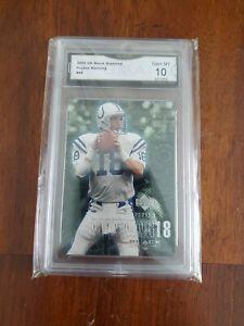 2000 Upper Deck Black Diamond #46 Peyton Manning GMA 10