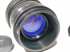 OKS1-75-1 2/75mm #670120 for M42 mount.Soviet Cine Movie Top Class lens/OKC