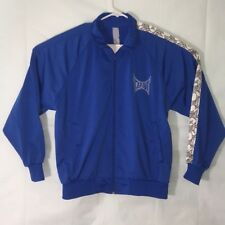Tapout Zip Up Polyester Jacket Embroidered Men's Medium