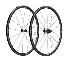VISION KOM TL Carbon Clincher TT/Tri Road Bike Climbing Wheel Set NEW 1280 grams