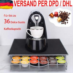 36 Dolce Gusto Kaffee Kapselhalter Kapselspender Kaffeemaschine Ständer Haus DHL