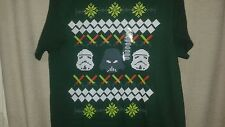 Ugly Christmas Star Wars Movie Official New Shirt - Darth Vader & Stormtroopers