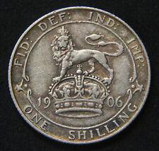 Edward VII 1906 Shilling GF