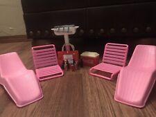Barbie Beach And Coca Cola Set