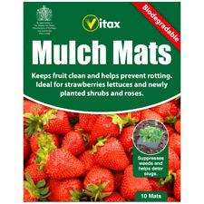 Vitax Biodegradable Mulch Mats - Pack of 10