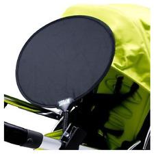 My Buggy Buddy Stroller Sun Shade Pushchair Pram Car Shade Clip On BLACK  BNIP