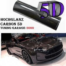3 X A4 Carbon Auto Folie Schwarz Glanz  Hochglanz PREMIUM 2D 4D 5D 3D Aufkleber