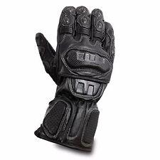 Waterproof Motorcycle Motobike Scooter Leather Sports Long Gloves Black Winter