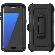 For Samsung Galaxy S7 Edge Case Cover (Belt Clip fits Otterbox Defender)