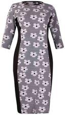 Maglie e camicie da donna grigi manica corti elasticizzati