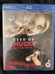 Seed Of Chucky - Out Of Print UK Region B Blu Ray New & Sealed