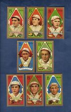1911 Gold Border BOSTON RED SOX T205 Team complete 8-card Reprint Set (CCC) NM+