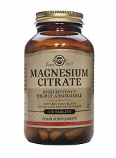 Solgar Magnesium Citrate 120 Tablets
