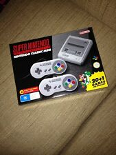 BRAND NEW EB Games FIRST ISSUE Super Nintendo SNES Classic Mini