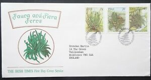 Ireland Eire. Fauna & Flora Irish Times first day stamp cover dated Nov 1986