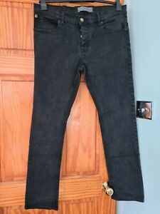 """FRENCH CONNECTION BLACK  JEANS - 36/32"""""""