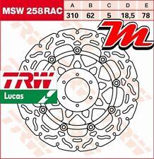 Disque de frein Avant TRW Lucas MSW 258 RAC Honda CB 1100 SF X-Eleven SC42 2000-