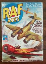 RAF Aces  Vol. 4 #2 (Spring 1944) True Action Stories of the Men with Wings