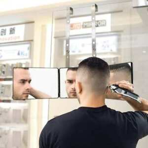Self Hair Cut System 3 Mirror Self Hair Cutting Adjustable Height TOP QUALITY UK