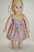 American Girl Dolls  Our Generation Dolls 18 Inch Doll Clothes Party Dress Only
