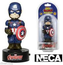 Body Knocker Avengers Age of Ultron Captain America Solar Powered 15 cm by NECA