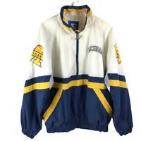 Starter Michigan State Jacket Size XL 1/2 Zip Pullover Side Zip Windbreaker
