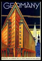 GERMANY BEAUTY A3 vintage retro travel & railways posters wall decor#3