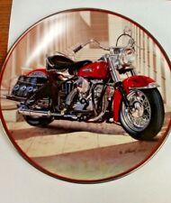 "Harley Davidson Porcelain 8"" Plate ""49 Pan Head"" Franklin Mint New No Box"